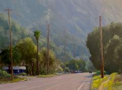 """Afternoon Haze, Laguna Canyon"" California Plein Air Painting"