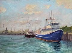 """Aspara, Honolulu Harbor ""  Hawaii Plein Air Painting"