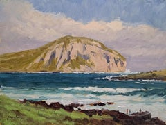 """Big Surf at Makapu'u ""  Hawaii Plein Air Painting"