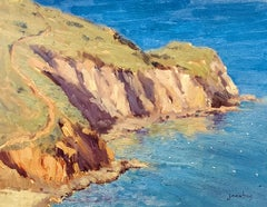 """Cherry Cove, Catalina""  California Plein Air Painting"
