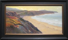 """Crystal Cove Cliffs""  Plein Air Oil Painting by Jacobus Baas"
