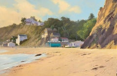 """Crystal Cove"" Southern California Beach Scene"