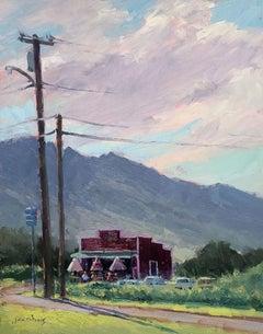 """""""Farm To Barn"""" Hawaii Plein Air Painting"""
