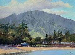 """Haleiwa""  Hawaii Plein Air Painting"