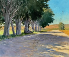 """Midday Shadows"" Central California Plein Air Painting"
