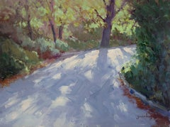 """Path To Crystal Cove"" California Plein Air Painting by Jacobus Baas"