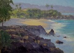 """Pupukea Lava Flows""  Hawaii Plein Air Painting"
