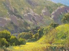 """""""Spring At Big Bend"""" Laguna Beach California Landscape Plein Air Painting"""