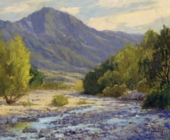 """Spring Runoff"" Southern California Landscape Plein Air Painting"