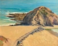 """Treasure Island"" Southern California Coastal Scene"