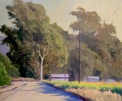 """Windswept Eucalyptus"" Central California Plein Air Painting"