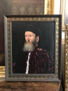 16th Century Italian Renaissance Old Master Portrait of a Procuratore