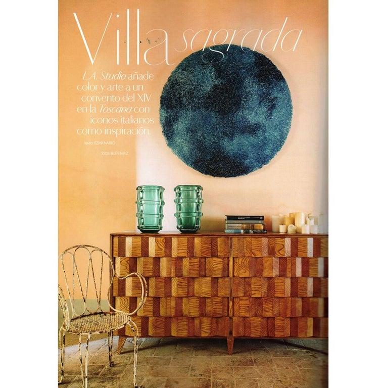 Jacopo Foggini Contemporary Modern Circular Blue Polycarbonate Italian Wall Ligh For Sale 8