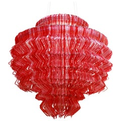 Jacopo Foggini Contemporary Modern Methacrylate Italian Pendant Lamp