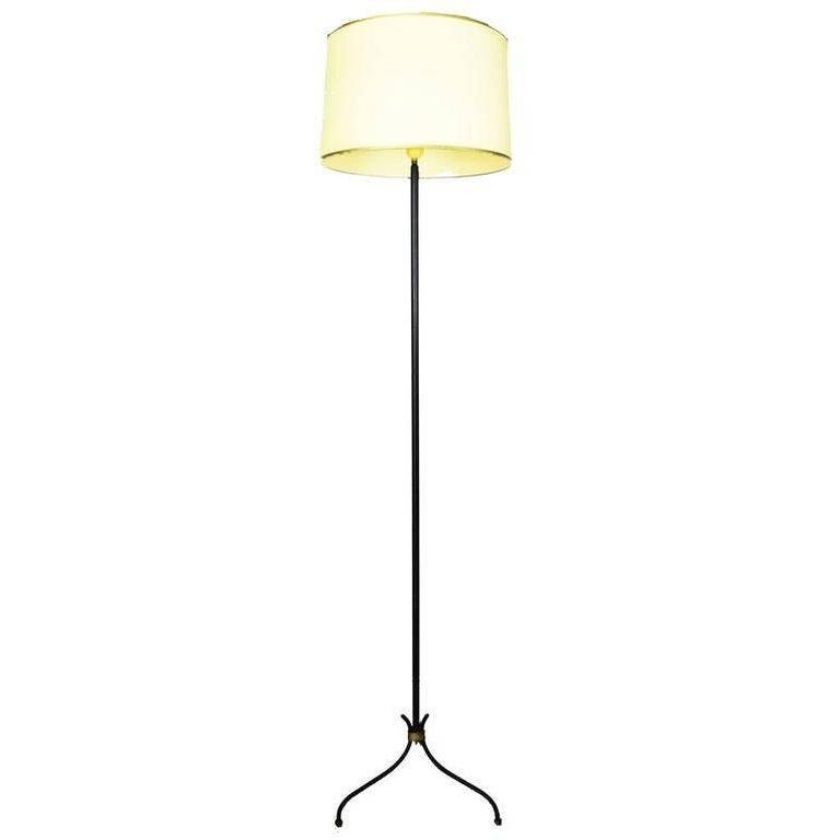 Jacque Adnet Style Floor Lamp For Sale