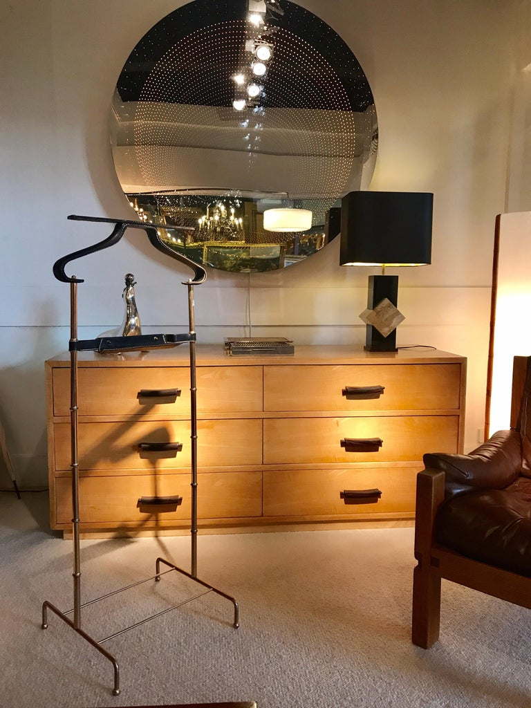 Mid-20th Century Jacque Adnet Valet For Sale