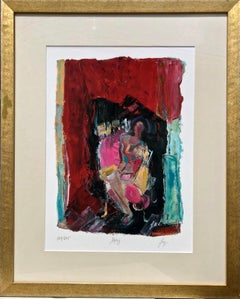 Woman Figure Abstract Expressionist