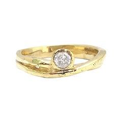 Jacqueline Rose Fragment Diamond Solitaire Ring