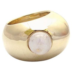Jacqueline Rose Pebble Rainbow Moonstone Ring