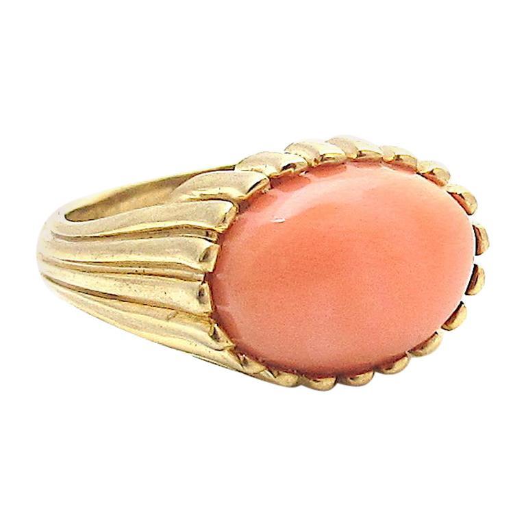 Jacqueline Rose Ridge Coral Ring