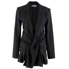 Jacquemus La Veste Rafael Blazer Dress FR 40