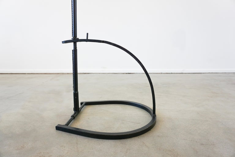 20th Century Jacques Adnet Adjustable Floor Lamp For Sale