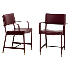 Jacques Adnet Armchairs