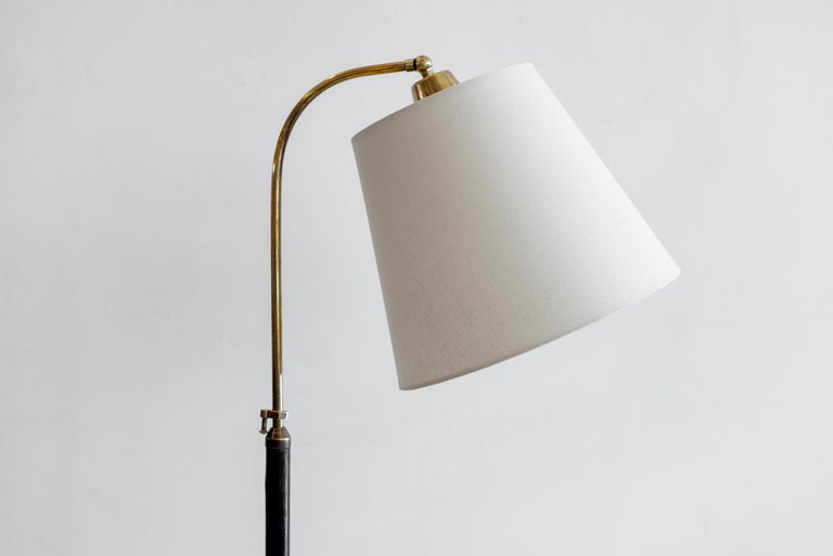 Jacques Adnet Attributed Floor Lamp For Sale 1