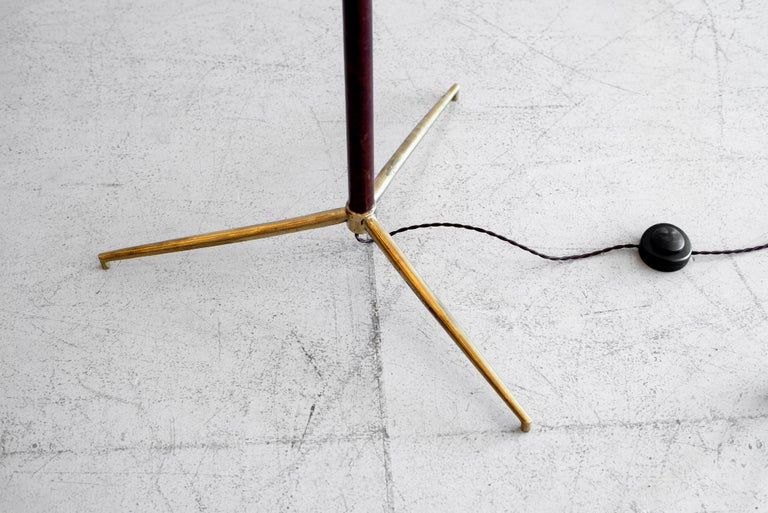 Jacques Adnet Attributed Floor Lamp 2