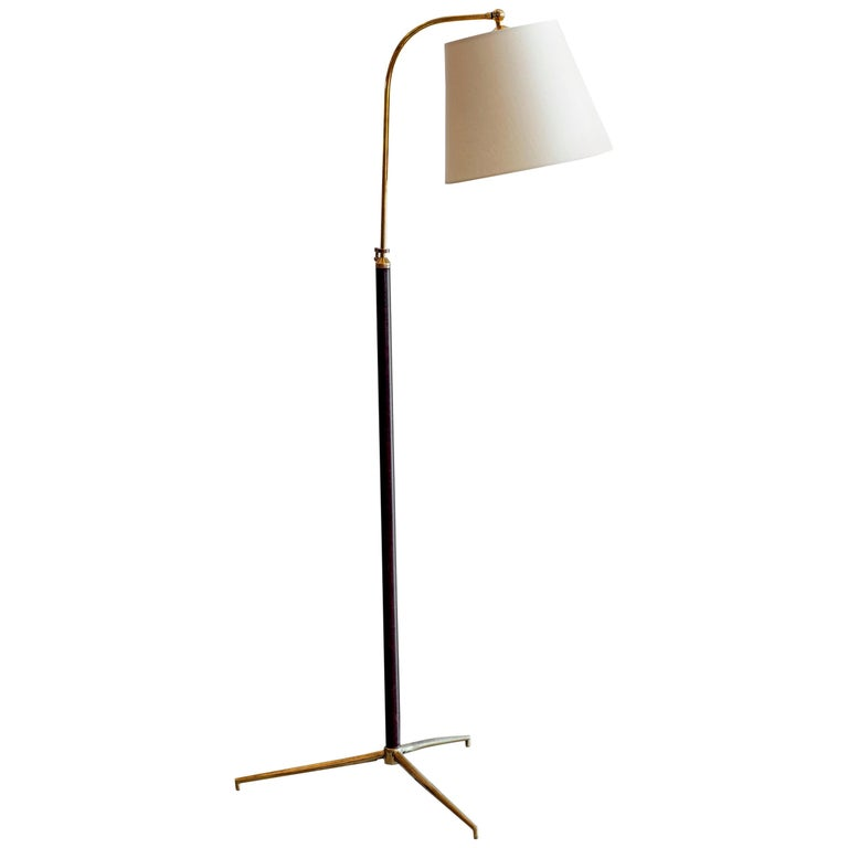 Jacques Adnet Attributed Floor Lamp
