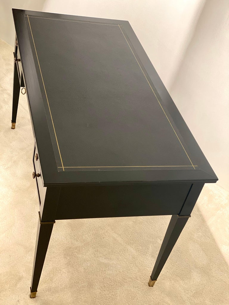 French Jacques Adnet Desk, 1950s For Sale