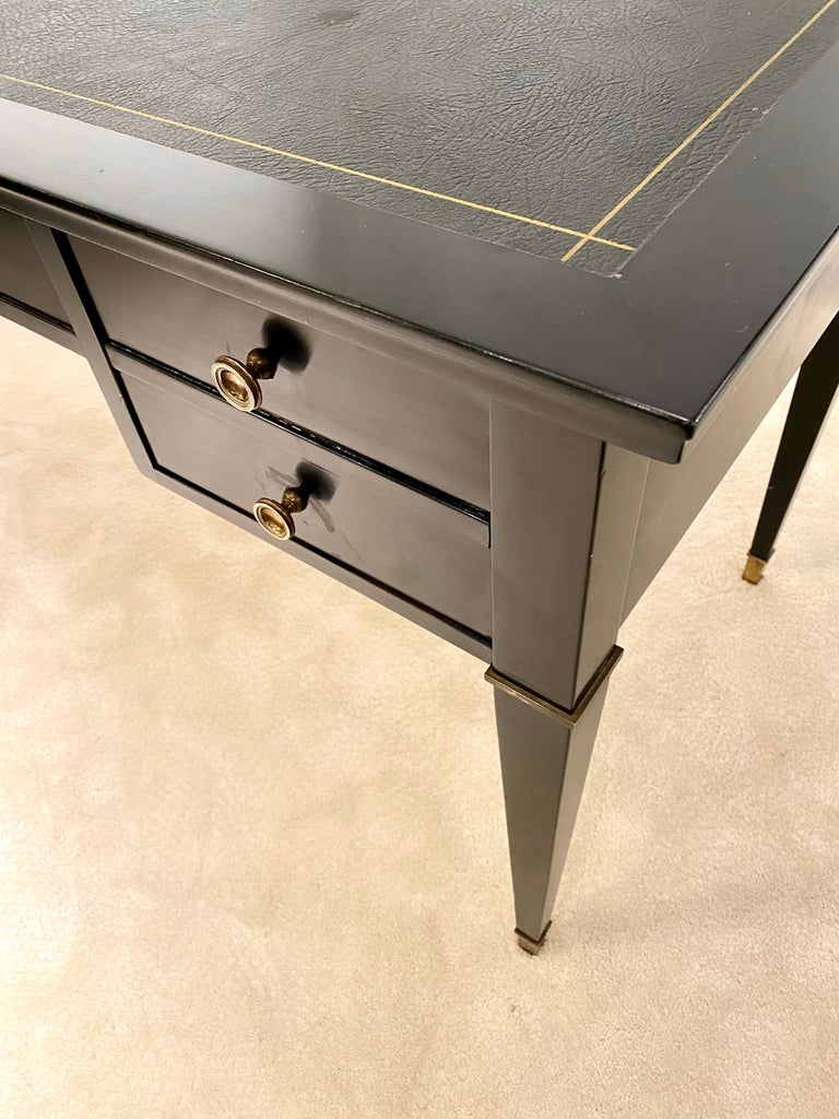 Lacquered Jacques Adnet Desk, 1950s For Sale