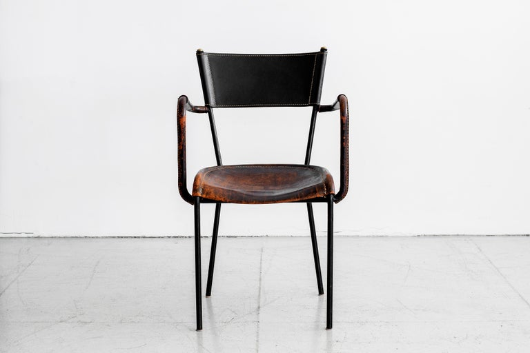 Jacques Adnet Desk and Chair 7