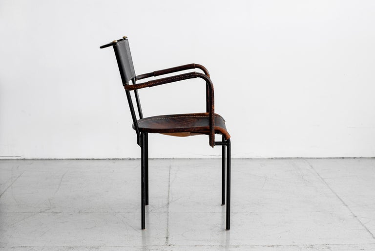 Jacques Adnet Desk and Chair 10