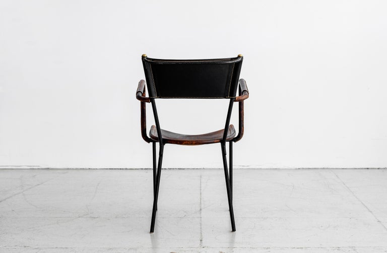 Jacques Adnet Desk and Chair 11