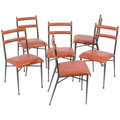 Jacques Adnet Dining Chairs