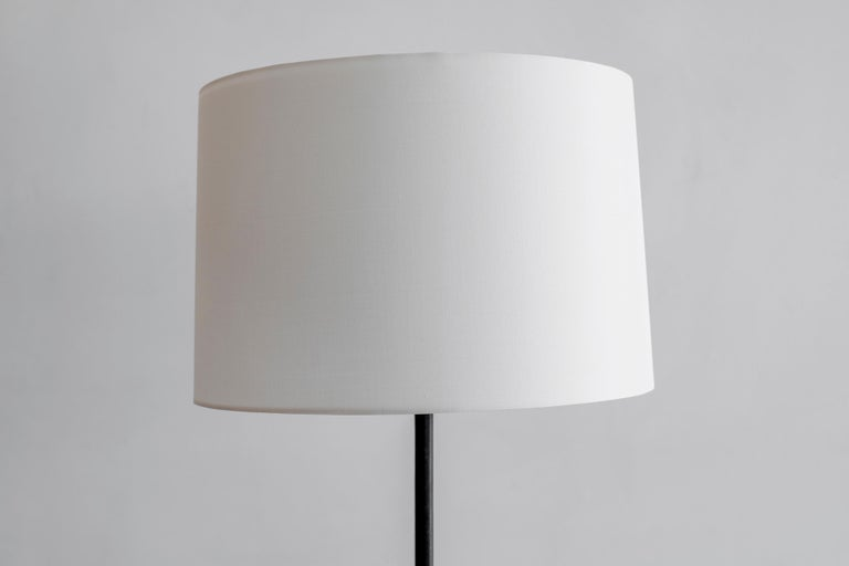Jacques Adnet Floor Lamp In Good Condition For Sale In Los Angeles, CA