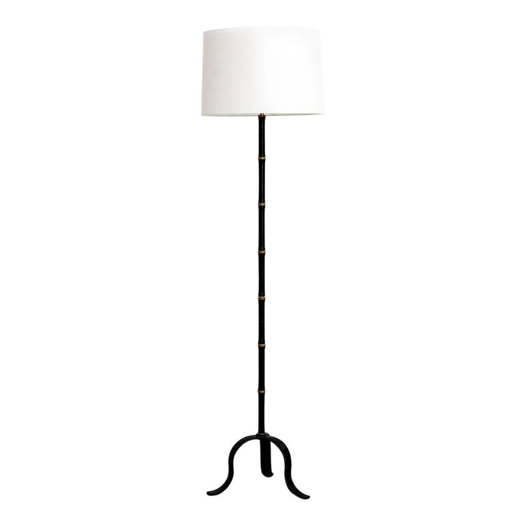 Jacques Adnet Floor Lamp For Sale