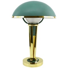 Jacques Adnet French Art Deco Desk or Table Lamp, circa 1940