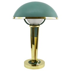 Jacques Adnet French Art Deco Desk / Table Lamp, circa 1940