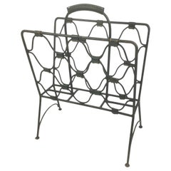 Jacques Adnet Magazines Rack, 1940s