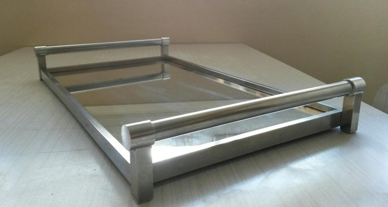 French Jacques Adnet Mid-Century Modern Serving Tray, 1930s France For Sale