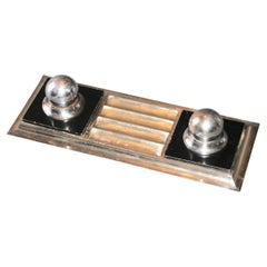 Jacques Adnet Modernist Inkwell