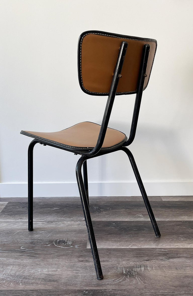 Jacques Adnet, Original Chair, 1955 For Sale 1