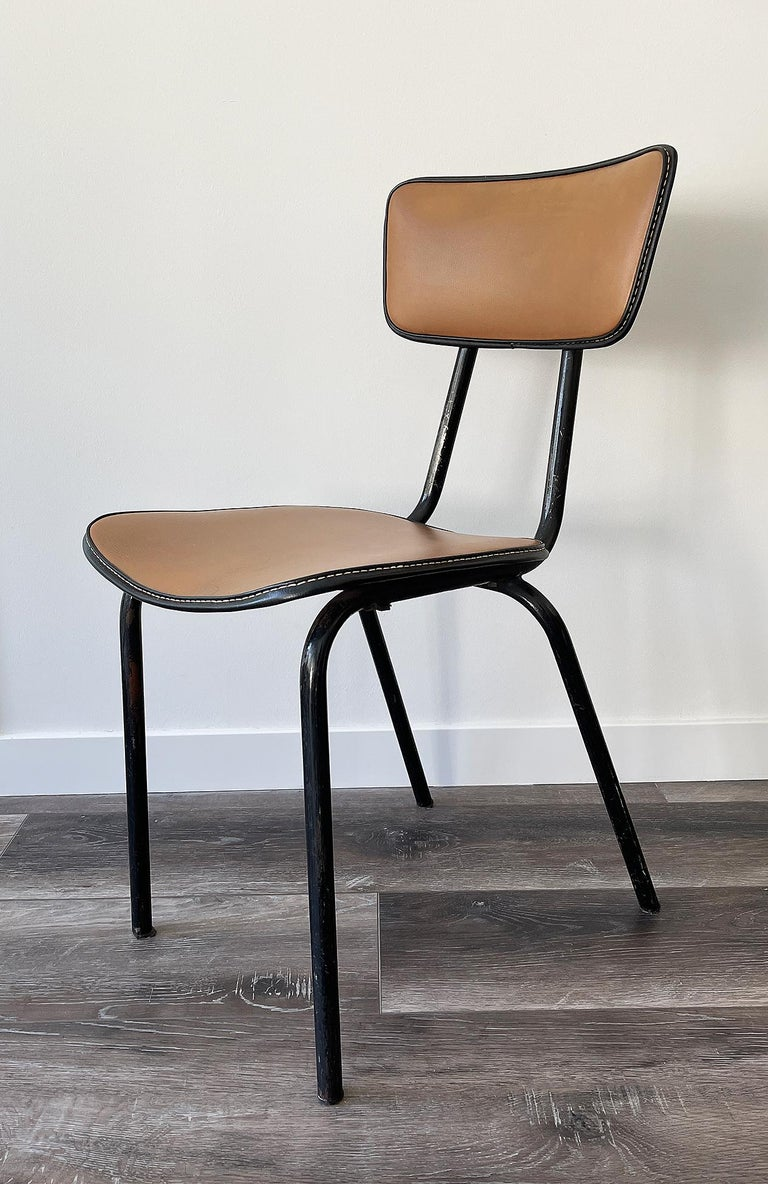 Jacques Adnet, Original Chair, 1955 For Sale 2