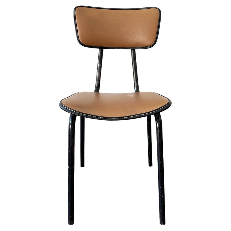 Jacques Adnet, Original Chair, 1955 For Sale