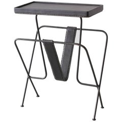 Jacques Adnet Side Table
