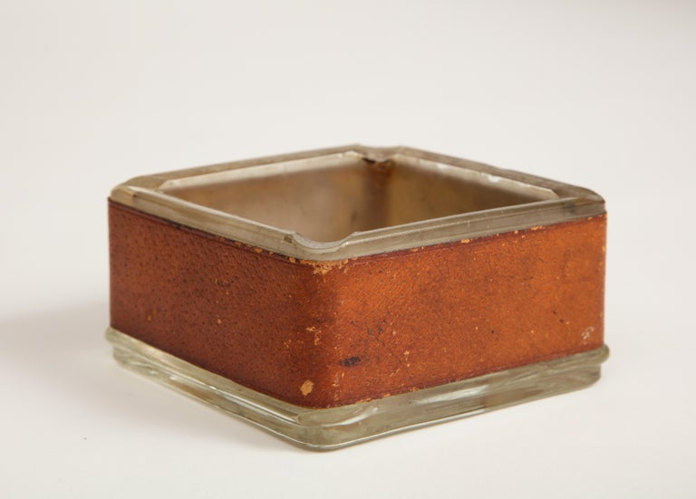 Jacques Adnet Style Ashtray For Sale 2