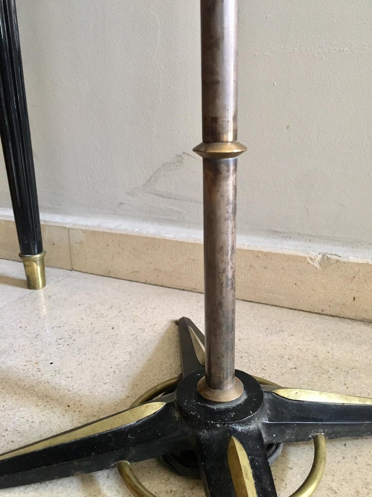 Jacques Adnet Style Floor Lamp In Good Condition For Sale In Madrid, ES