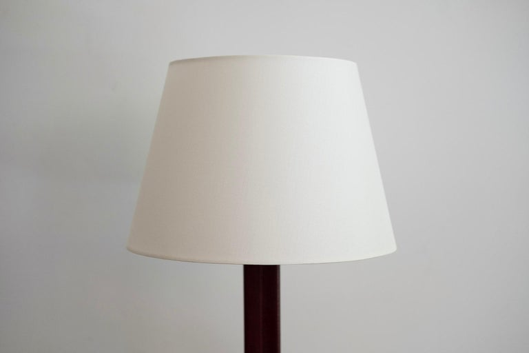 Mid-20th Century Jacques Adnet Style Table Lamp For Sale